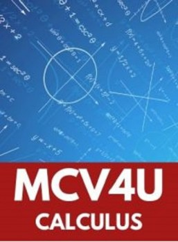 MCV4U, Grade 12 Calculus and Vectors (University)